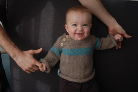 Baltic Baby Sweater