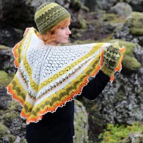 Icelandic Spring Shawl