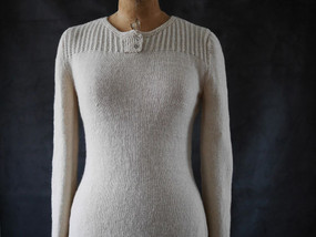 Textured Henley by Ruth Garcia-Alcantud