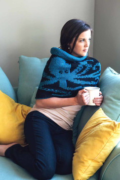 Double-Knit Kraken Cowl