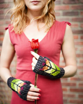 Prairie Glass Mitts