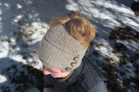 Ava Messy Bun Ponytail Hat
