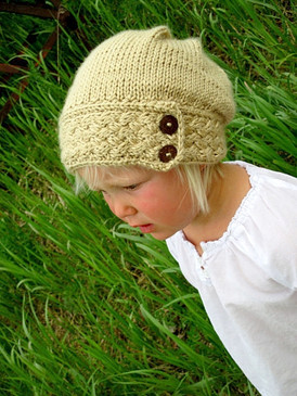 Little Miss Ella's Slouch Hat