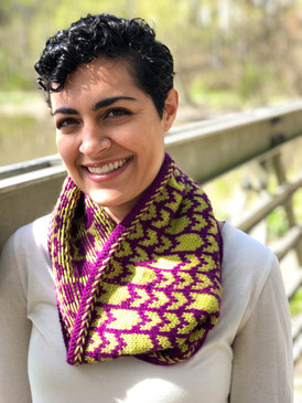 Stereo Hearts Cowl