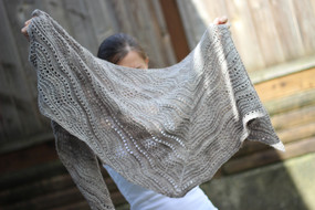Birch Sap Shawl