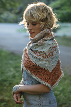 Golden Hour Shawl