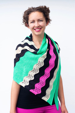 Escalation Shawl
