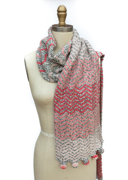 Faded Waves Scarf