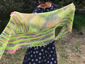 Feeling Fine Shawl