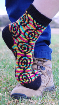 Skein Watch Socks