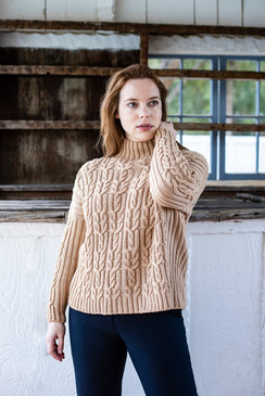 Twist and Twine Pullover
