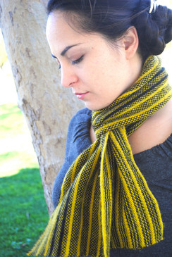 Bumble Stripes Scarf