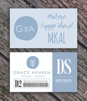 Modern Hygge Shawl MKAL Kit Code Cards