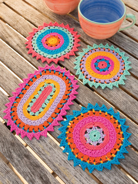Color Burst Coasters