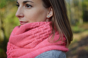 Smocked Scarf