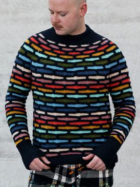 Painting Bricks Sweater
