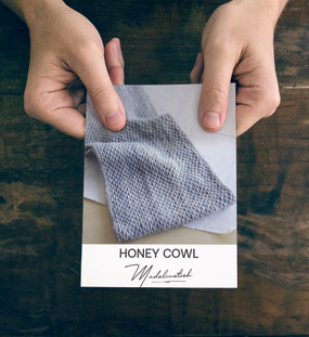 Honey Cowl Cards