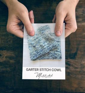 Garter Stitch Cowl Cards
