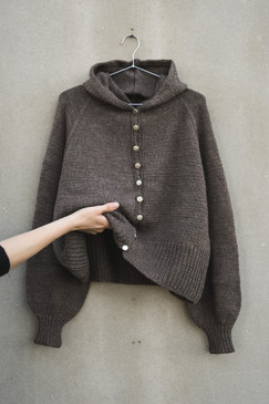 Autumn Hooded Cardigan