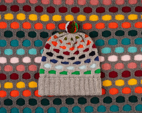 Painting Honeycombs Hat