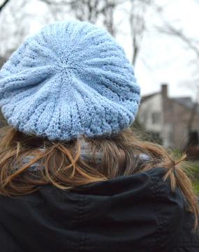 IJskristal Slouchy Hat