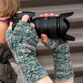 Photo Shoot Wrist Warmers