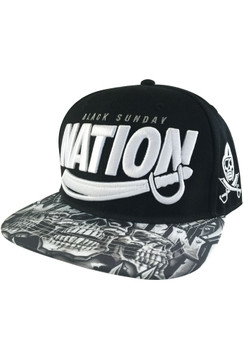 Nation Sword Snap Back Hat