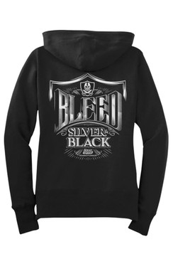 Bleed Zip Hoodie Fleece - Womens