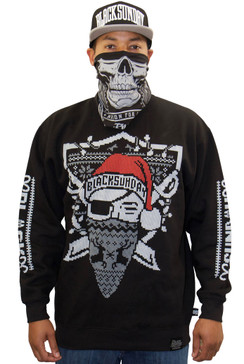 Ugly Santa Mens Crew Neck Fleece