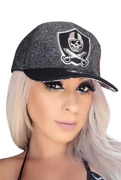 Chrome Baseball Hat - Grey