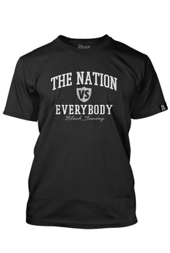 Nation Vs. Everybody Mens Tee