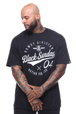 Black Sunday Script Men's Tee