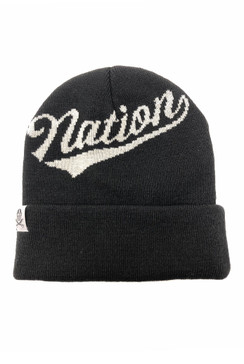 Nation Cuff Knit Beanie
