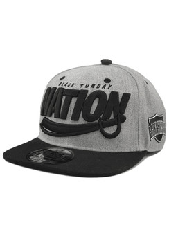 Nation Sword 2.0 Snap Back Hat - Heather Grey