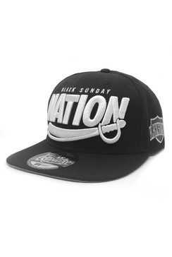 Nation Sword 2.0 Snap Back Hat - Black