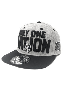 One Nation Snap Back Hat - Heather Grey