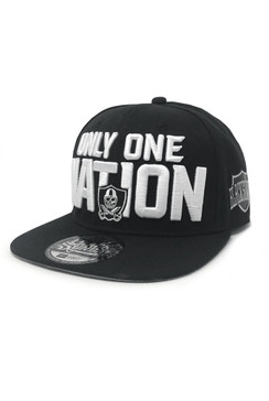 One Nation Snap Back Hat - Black