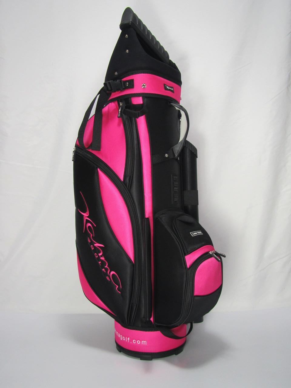 C8 Black Pink Lightweight Golf Bag Ebay