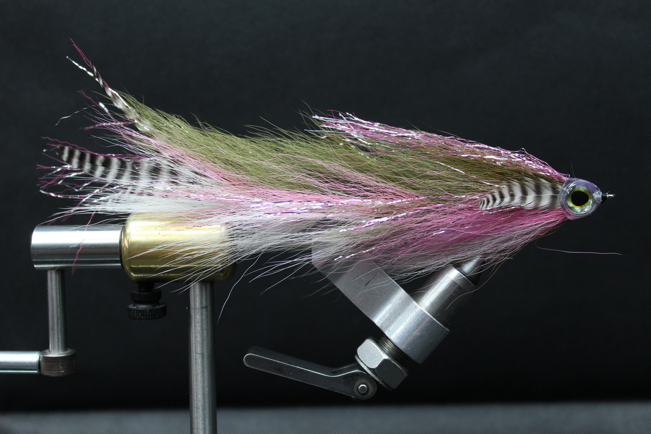 Big Bass fly Musky Yellow Bird  Big Game Changer Articulated Muskie Pike