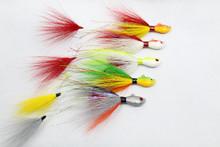 Traditional Peacock Bass jigs