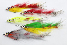 Big Game Changer Streamer Flies for Peacock Bass