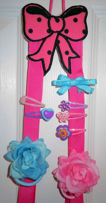 Ribbon Bow Holder Newfound Applique