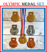 In The Hoop Olympic Medal Embroidery Machine Design Set