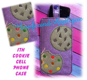 In The Hoop Cookie Cell Phone/Ipod Embroidery Machine Design Case