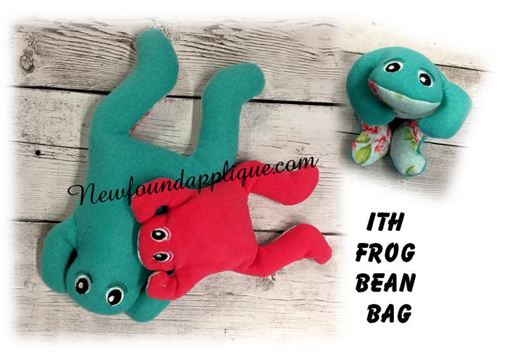 Surprising In The Hoop Frog Bean Bag Embroidery Machine Design Frankydiablos Diy Chair Ideas Frankydiabloscom