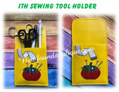 In the Hoop Sewing Tool/Utensil Holder Embroidery Machine Design