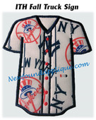 Jersey With Buttons Applique Embroidery Machine Design