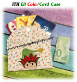 In The Hoop Elf Coin Card Case Embroidery Machine Design