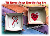 In The Hoop Nurse/Medical Snap Tray Embroidery Machine design