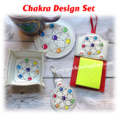 In The Hoop Chakra Embroidery Machine Design Set